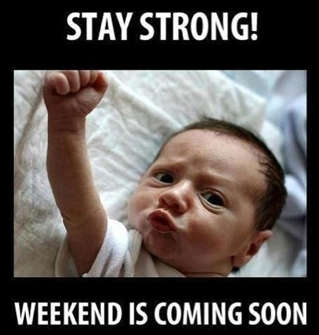 Funny Baby Memes - stay strong