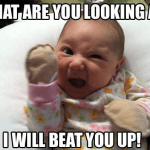 Funny Baby Memes - what are you looking at