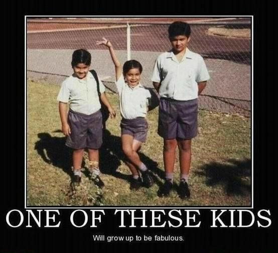 Funny Memes - one of these kids