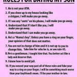Funny Memes - rules for dating my son