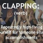 Funny Memes - definition of clapping