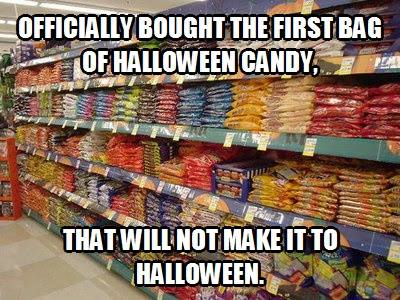 Funny Memes - halloween candy
