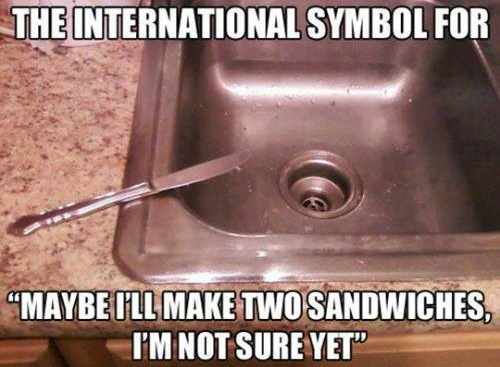 Funny Memes - the international symbol for
