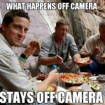 Funny Memes - what happens off camera