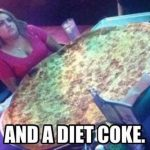 Funny Memes: and a diet coke