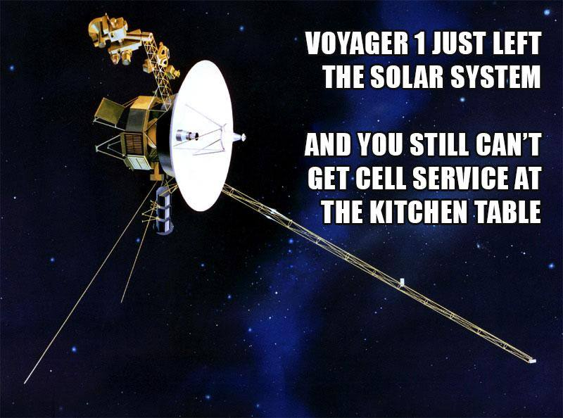 Funny Space Memes - voyager 1