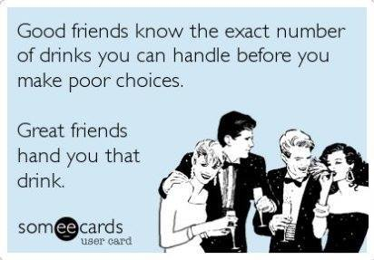 Funny Ecards - good friends and great friends
