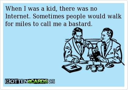 Funny Memes - Ecards - when i was a kid1