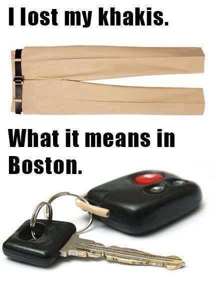 Funny Memes - khakis in boston