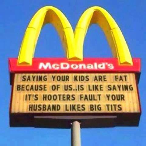 Funny Memes - saying your kids are fat
