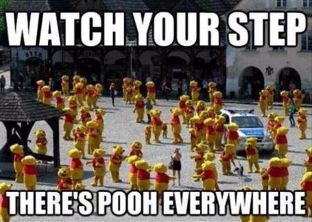 Funny Memes - watch your step