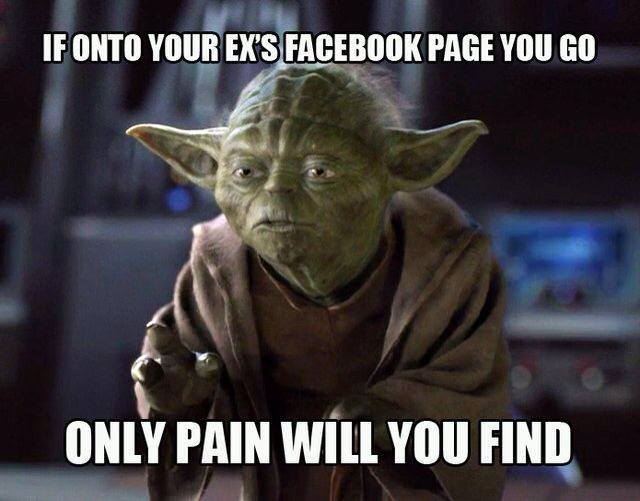 Funny Memes - your exs facebook