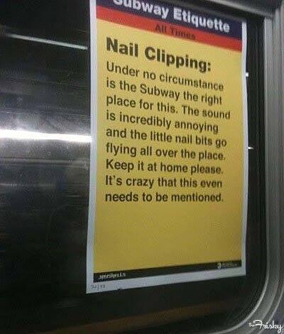 Funny Memes -nail clipping