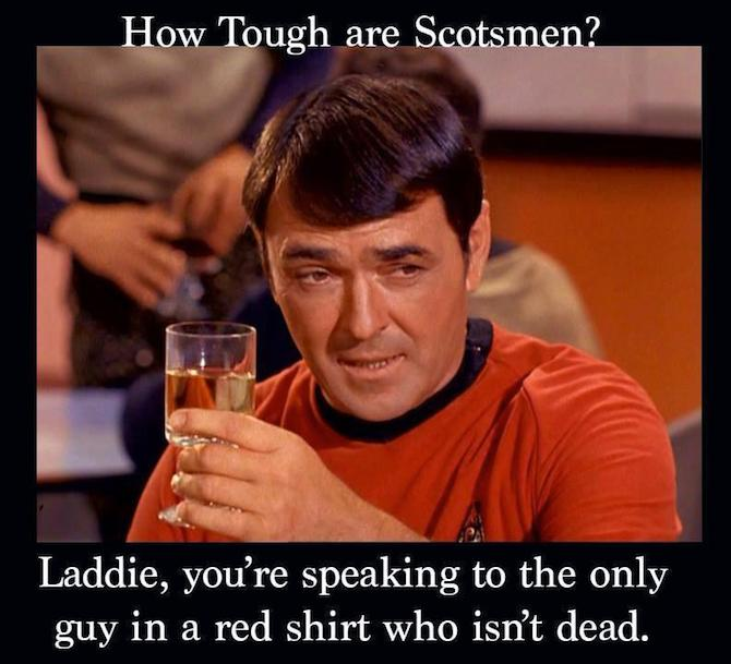 how tough are scotsmen