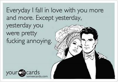 Funny Ecards - everyday i fall in love