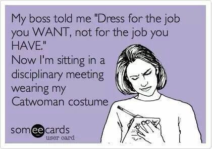 Funny Memes - Ecards - my boss told me