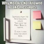 Funny Memes - men taking messages