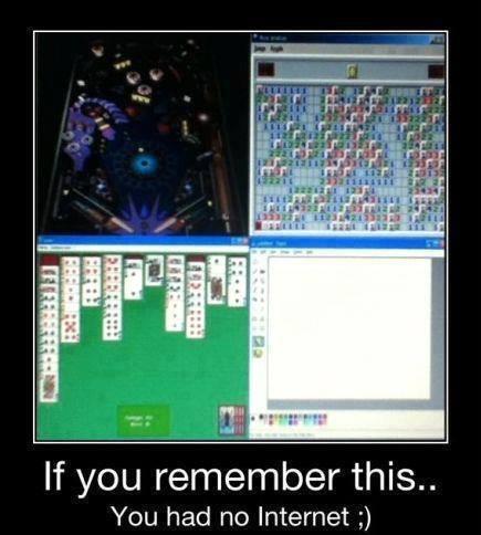 Funny Memes - you had no internet