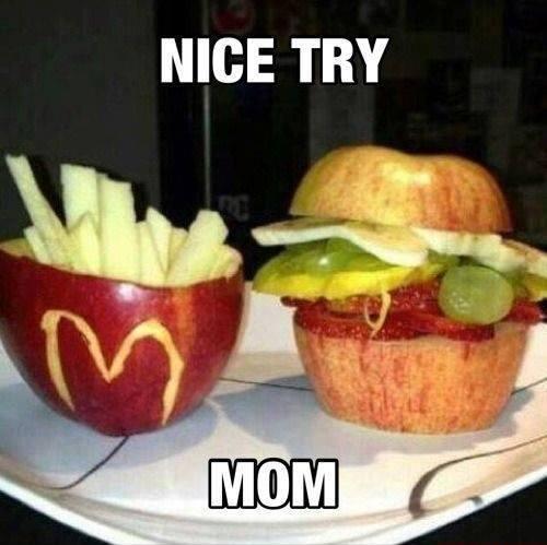 Funny Memes -nice try mom