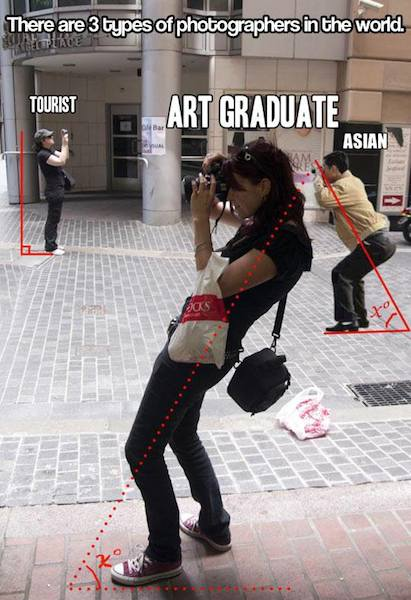 Funny Memes: 3 types of photographers