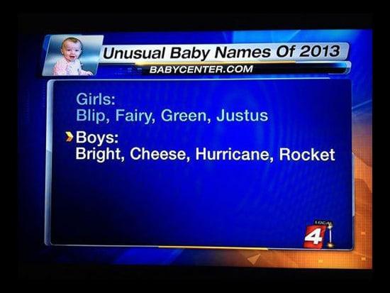 Baby Memes: baby names