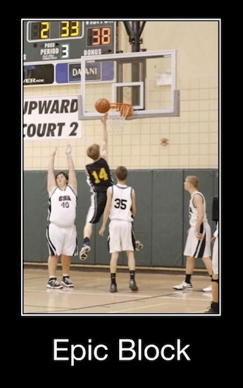 Basketball Memes - epic block
