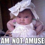 Funny Baby Memes - not amused