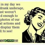 Funny Ecards: back in my day