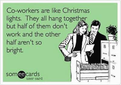 Funny Ecards: christmas lights