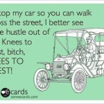 Funny Memes - Ecards - knees to chest