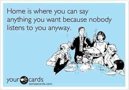 Funny Memes - Ecards - nobody listens