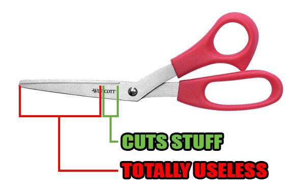 Funny Memes - science of scissors