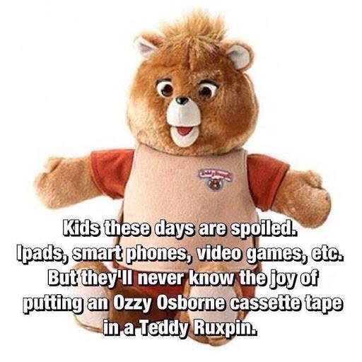 Funny Memes - teddy ruxpin