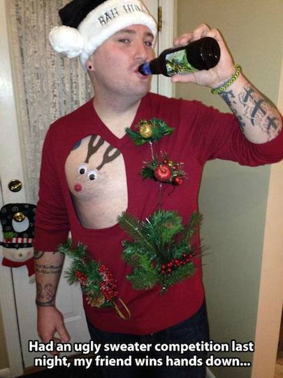 Funny Memes - ugly sweater