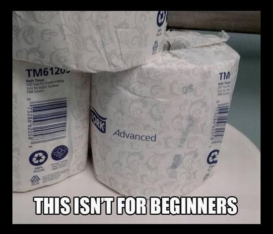 Funny Memes: advanced toilet paper