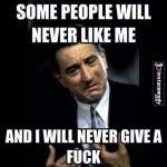 Funny Memes -i will never give a fuck