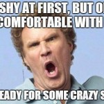 Funny Memes -im shy at first