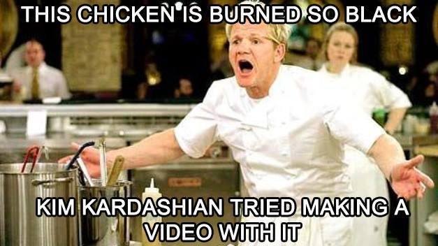 Funny Memes: burned so black