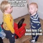 Baby Memes - give me your keys