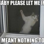 Funny Animal Memes - let me in