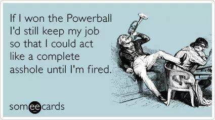 Funny Ecards - if i won the powerball