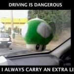 Funny Memes - driving is dangerous