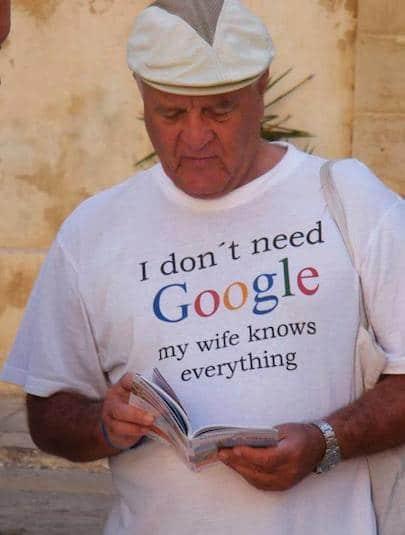 Funny Memes - i dont need google