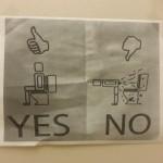 Funny Memes - restroom instructions