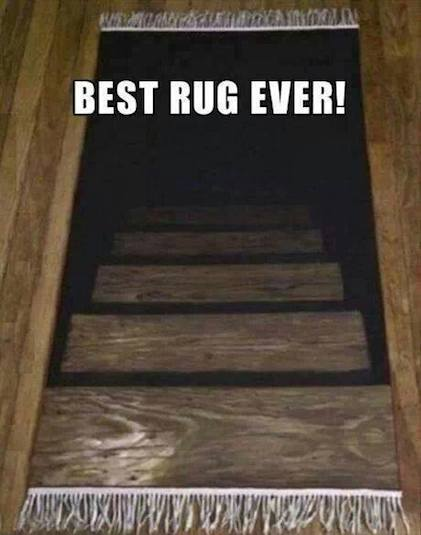 Funny Memes: best rug ever