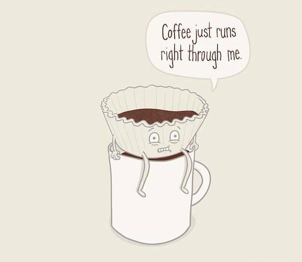 the coffee runs