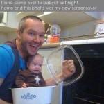 Baby Memes: bad babysitter