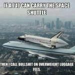Funny Memes - luggage fees