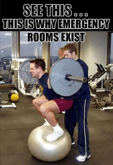 Funny Memes -intense training