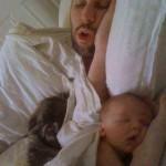 Funny Baby Memes - like father like son like dog